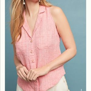 [Maeve by Anthropologie] Felicity Sleeveless Top